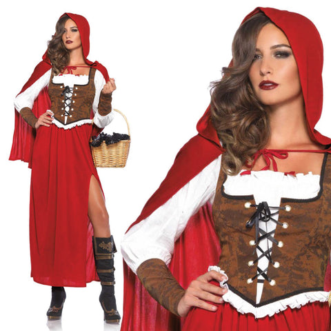 Ladies Classic Red Riding Hood Costume