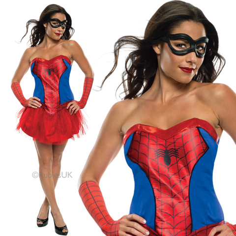 Ladies Spider Girl Costume