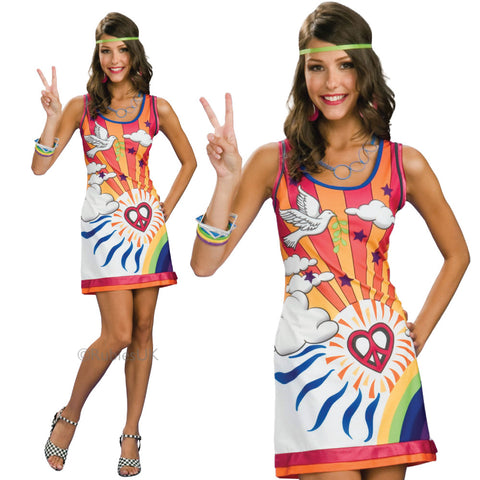 Ladies Hippie Dress