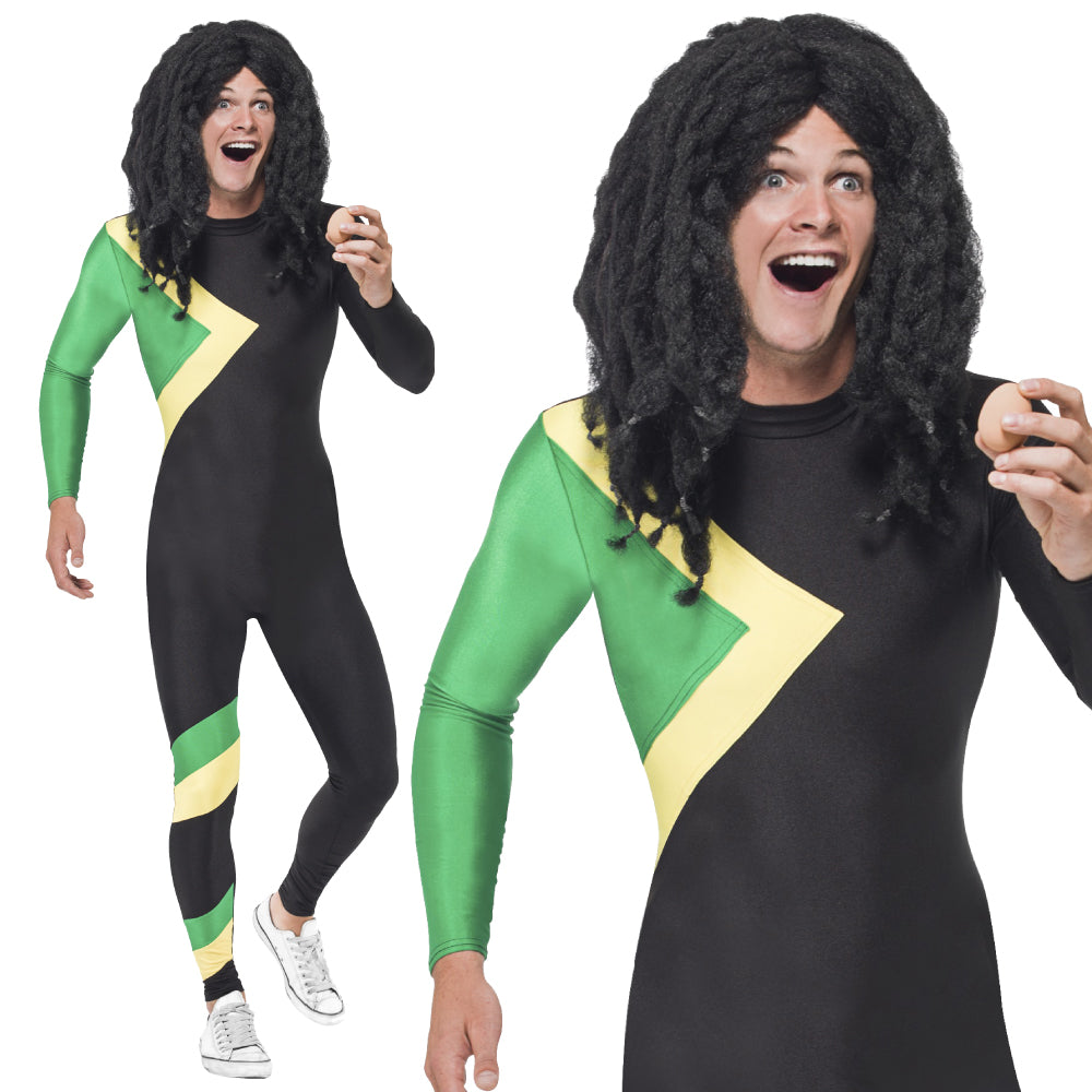 Mens Jamaican Bobsleigh Costume