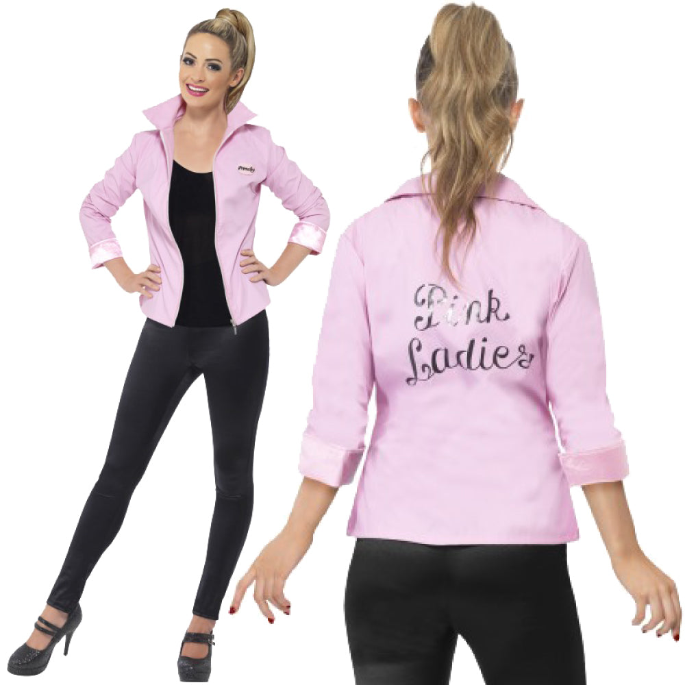 Grease Deluxe Pink Ladies Jacket