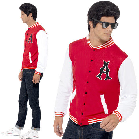 Mens Jock Letterman Costume