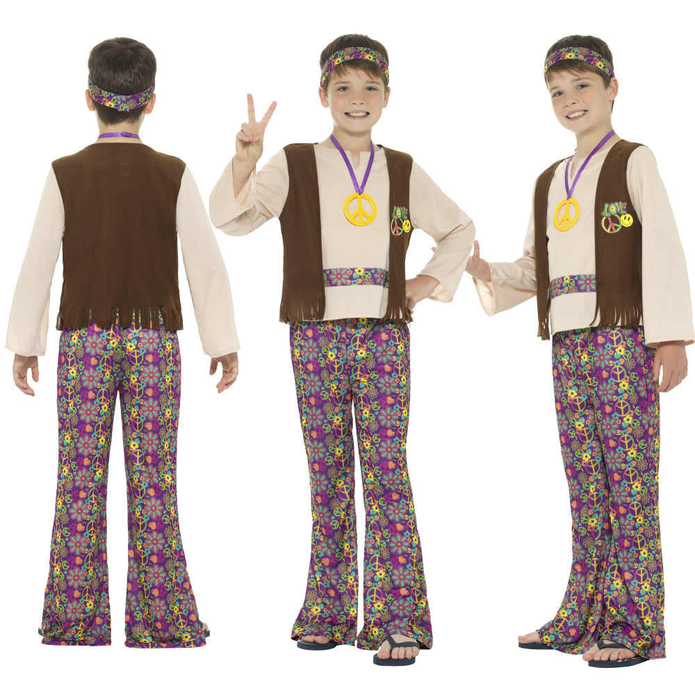 Boys Hippie Costume