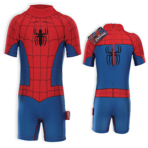 Boys Swimsuits Superman Spiderman or Batman