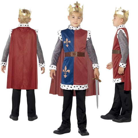 Childrens King Arthur Medieval Costume
