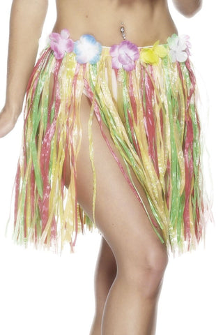 Ladies Hawaiian Hula Skirts
