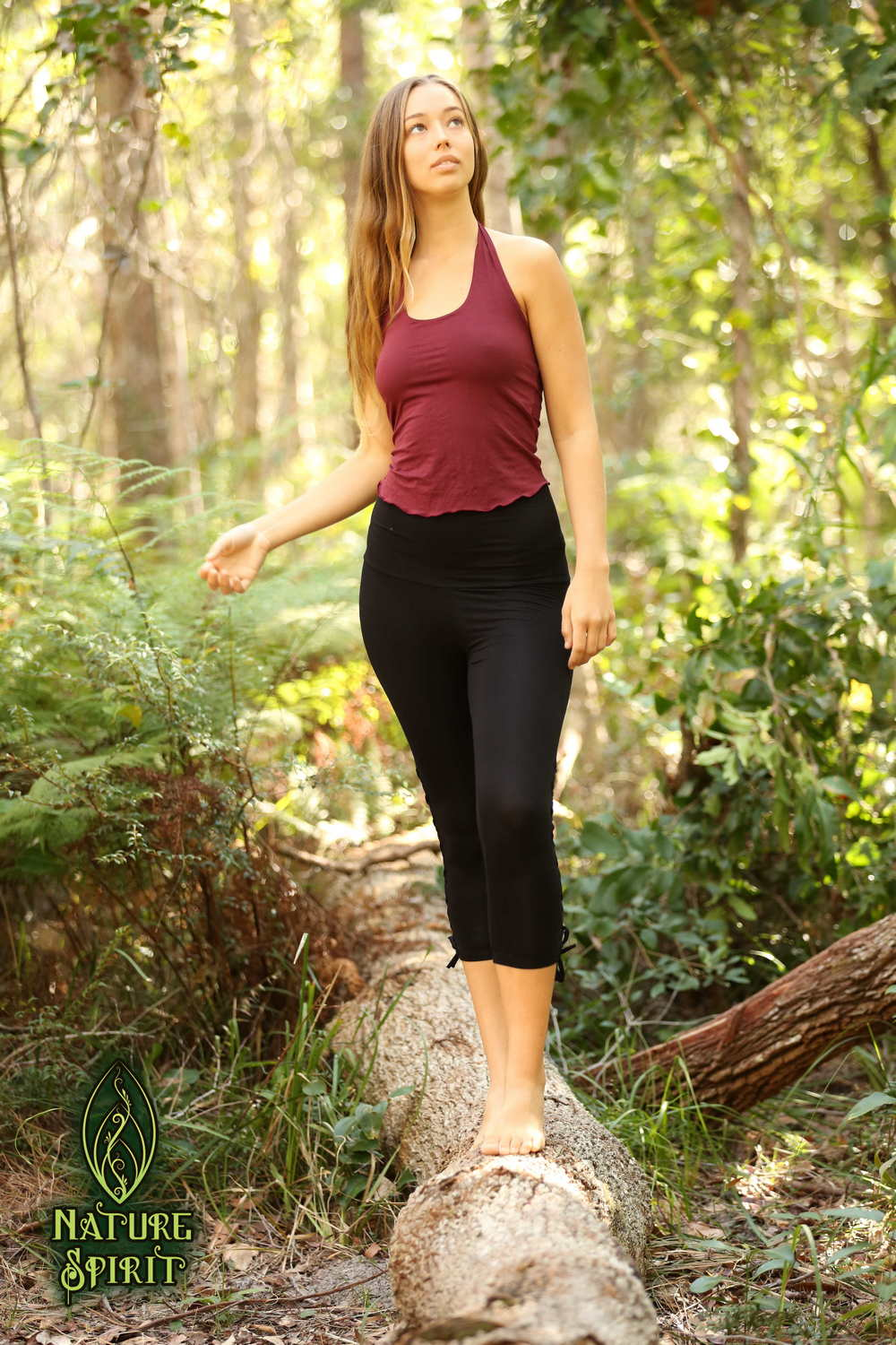Yoga Lace-Up Leggings
