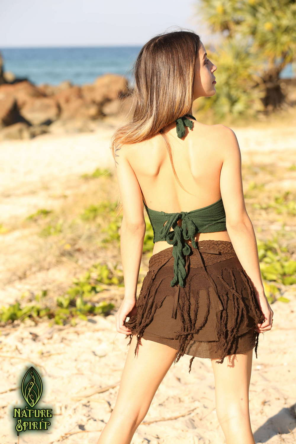 Frayed Pixie Skirt