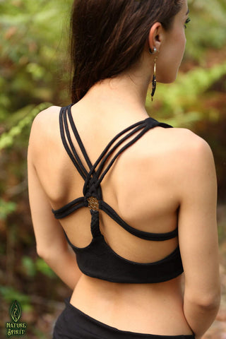Hand Block Halter Top