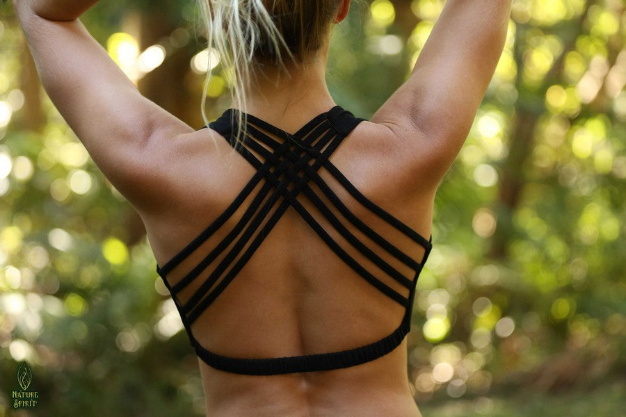 Criss Cross Yoga Bra