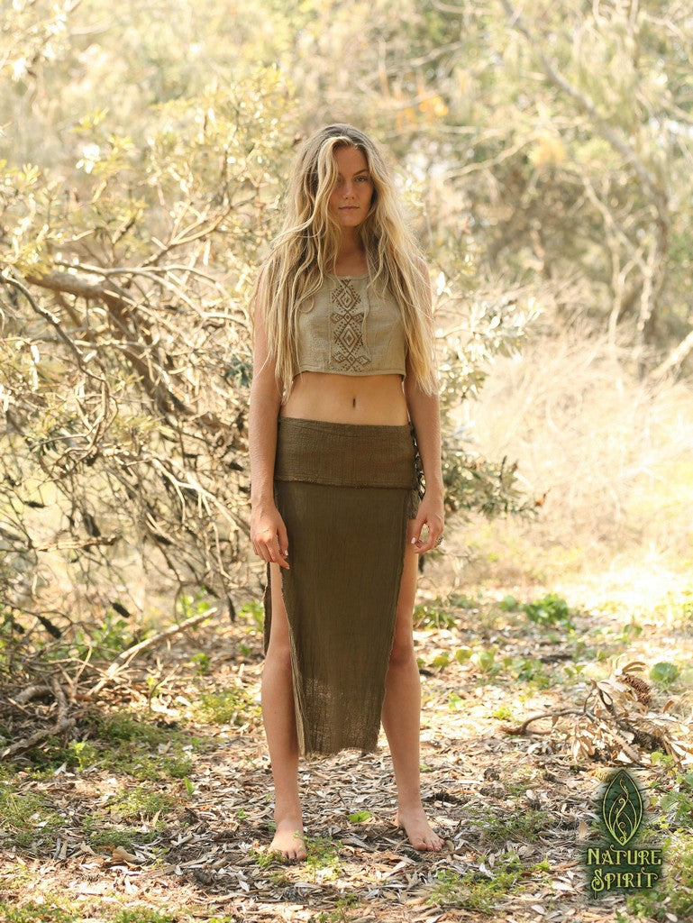 Tribal Panel Skirt