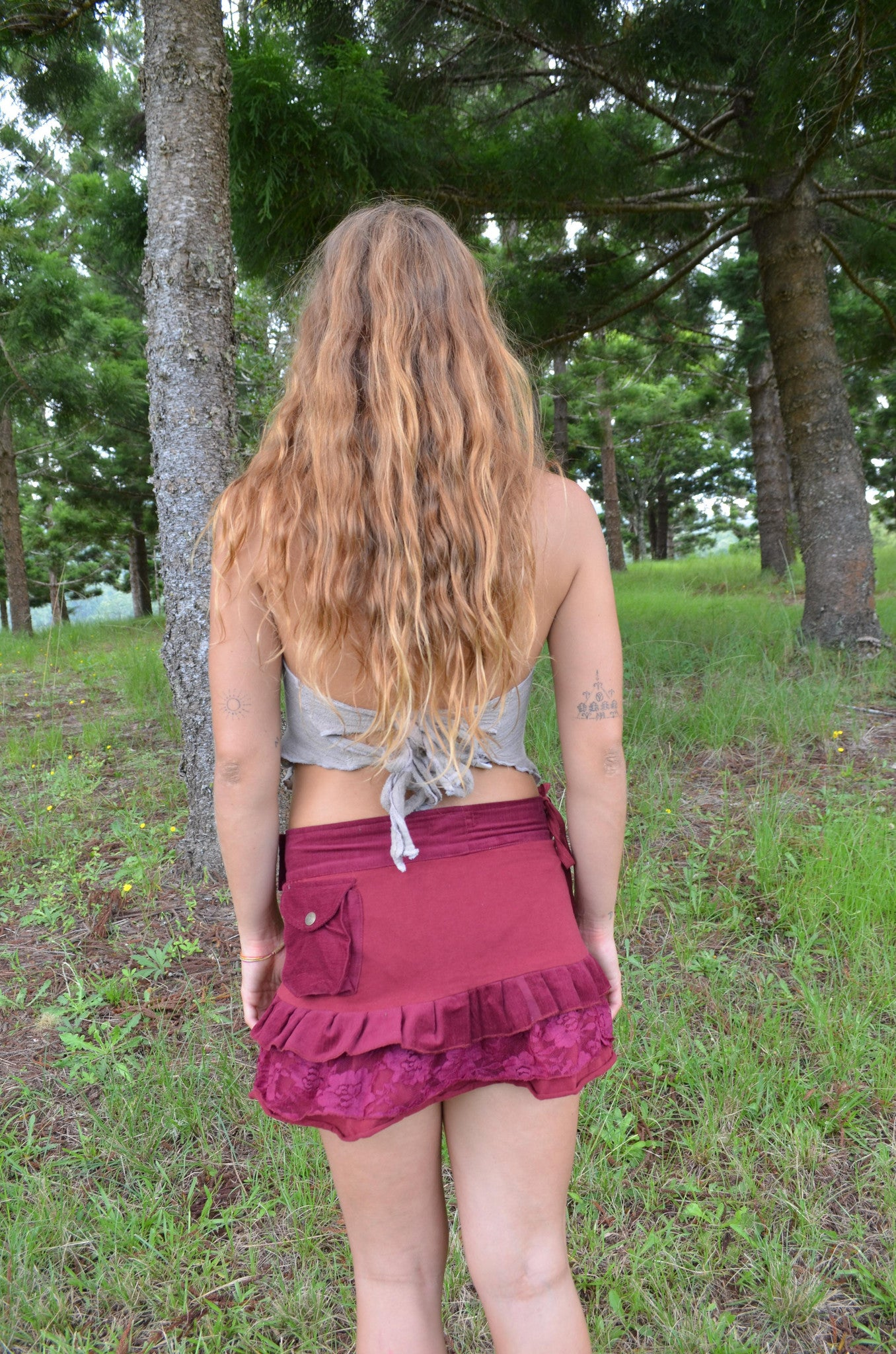 Elven Skirt - Wrap Skirt