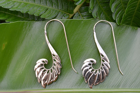 Angel Brass Earrings