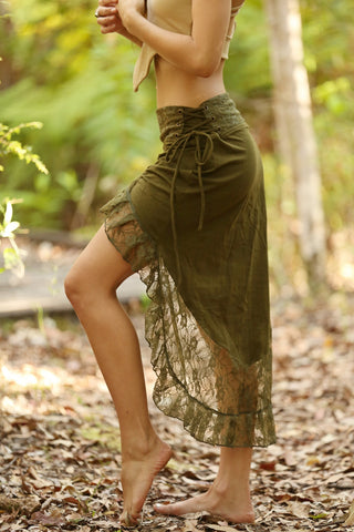 Forest Faerie Long Skirt