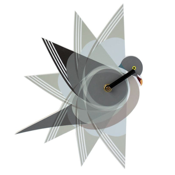 Wood Pigeon Clock