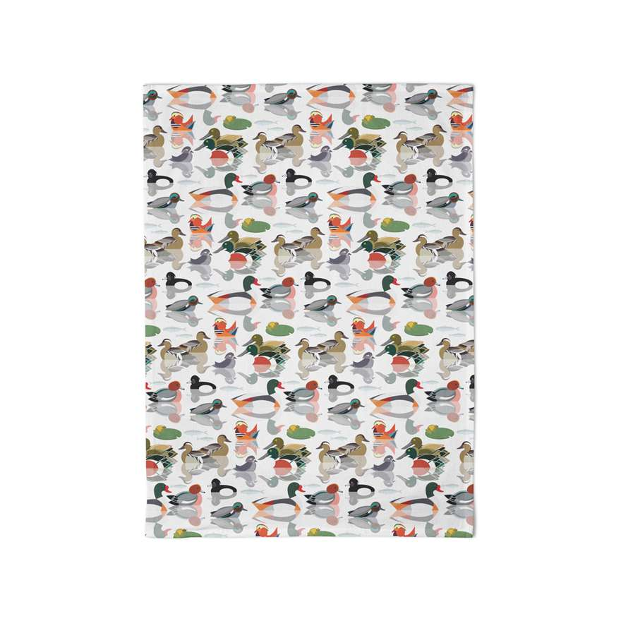 What the Duck? Tea Towel