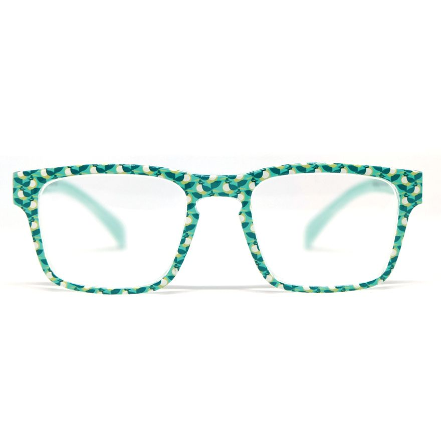 Reading Glasses: Green Warbler