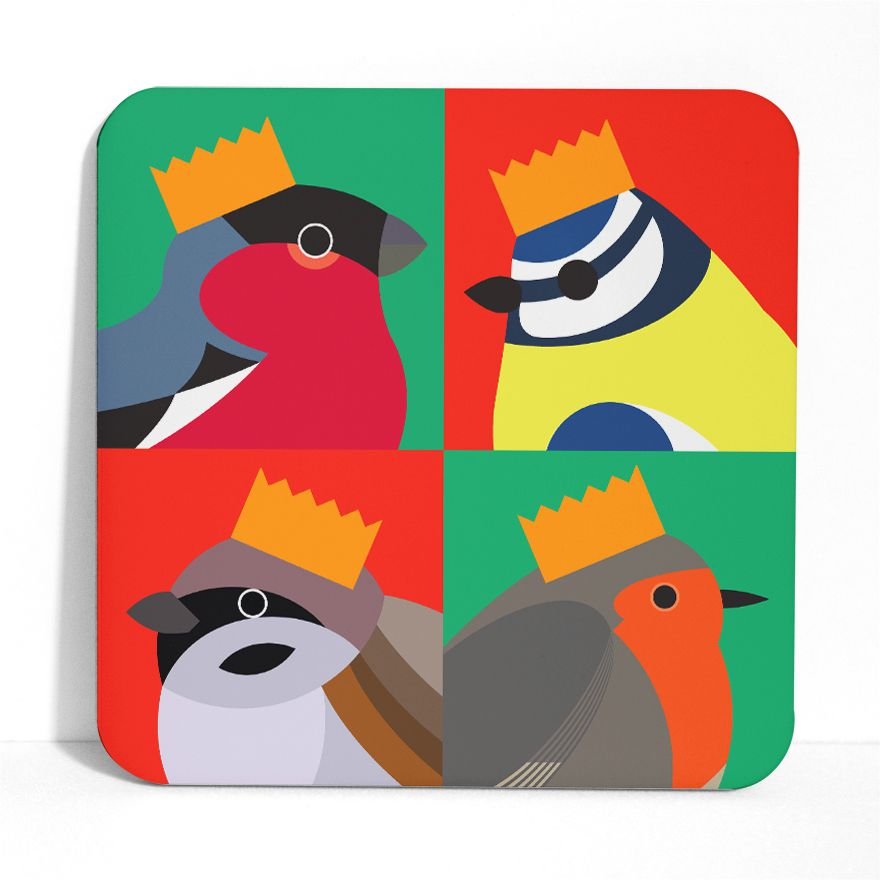 Bird Party Placemat - I Like Birds - Beautiful Bird Greeting Cards