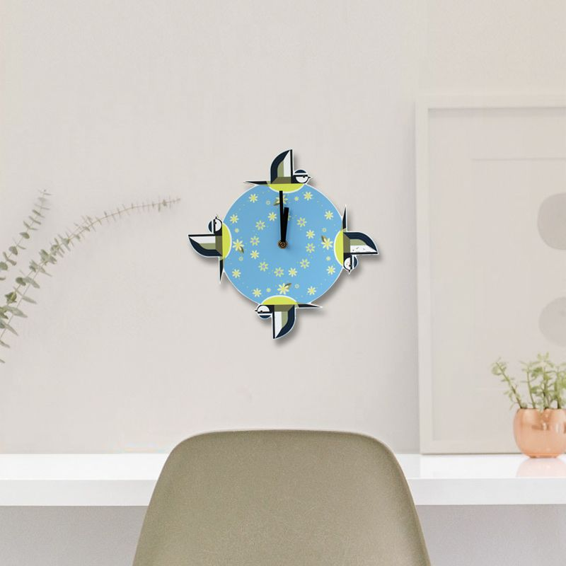 Blue Tit Clock