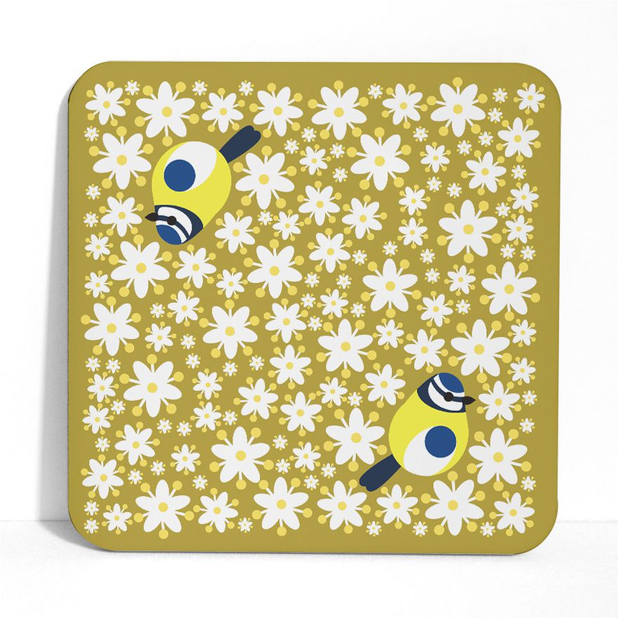 Blue Tit Placemat - I Like Birds - Beautiful Bird Greeting Cards
