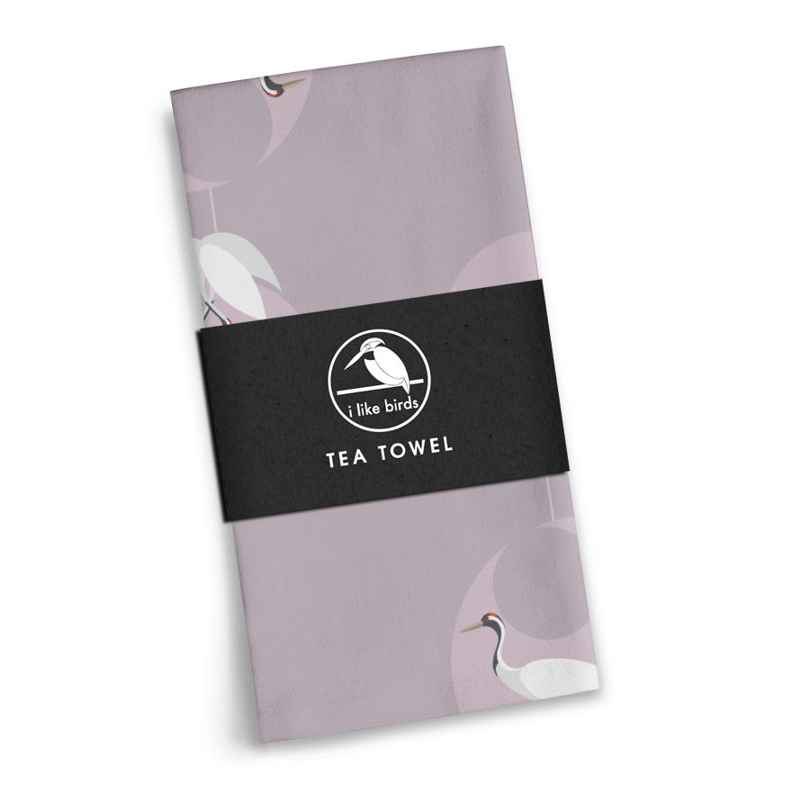 Crane Tea Towel