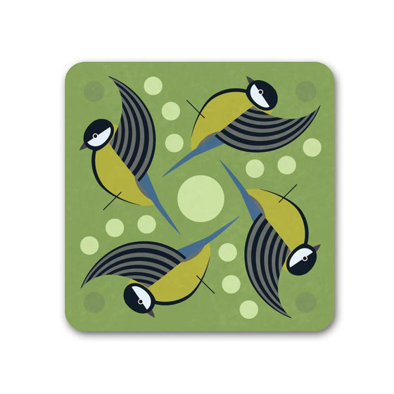 Great Tit Coaster - I Like Birds - Beautiful Bird Greeting Cards