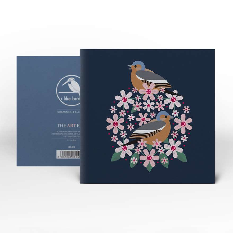 Greeting Card | Chaffinch : Birds & Blooms