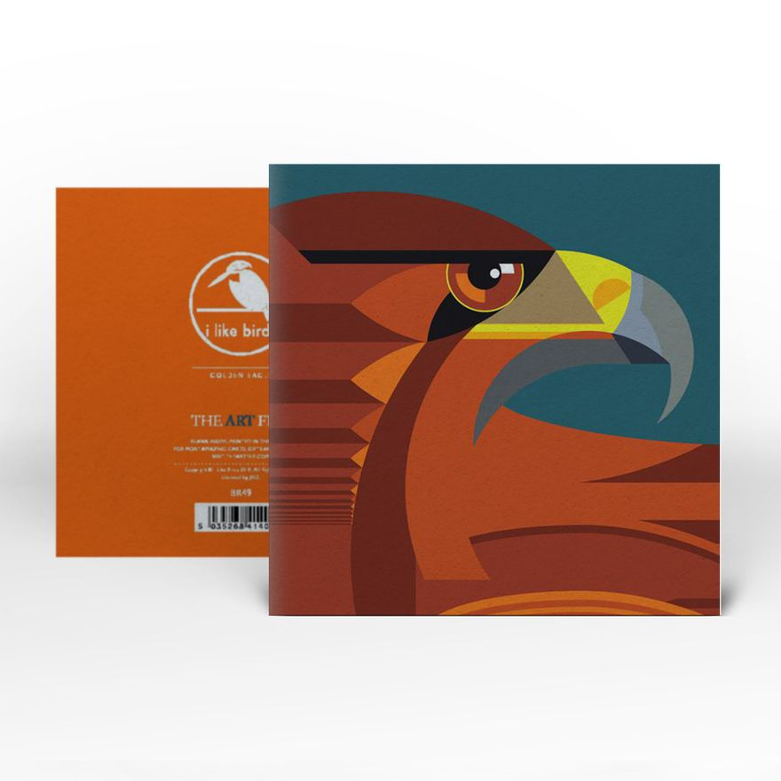 Greeting Card | Golden Eagle
