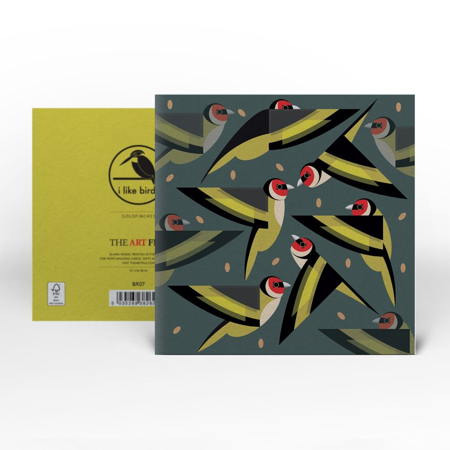 Greeting Card | Goldfinch