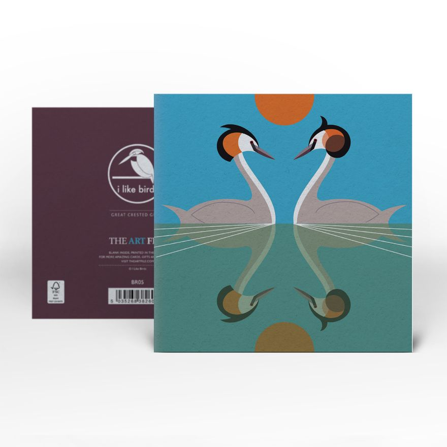 Greeting Card | Great Crested Grebe