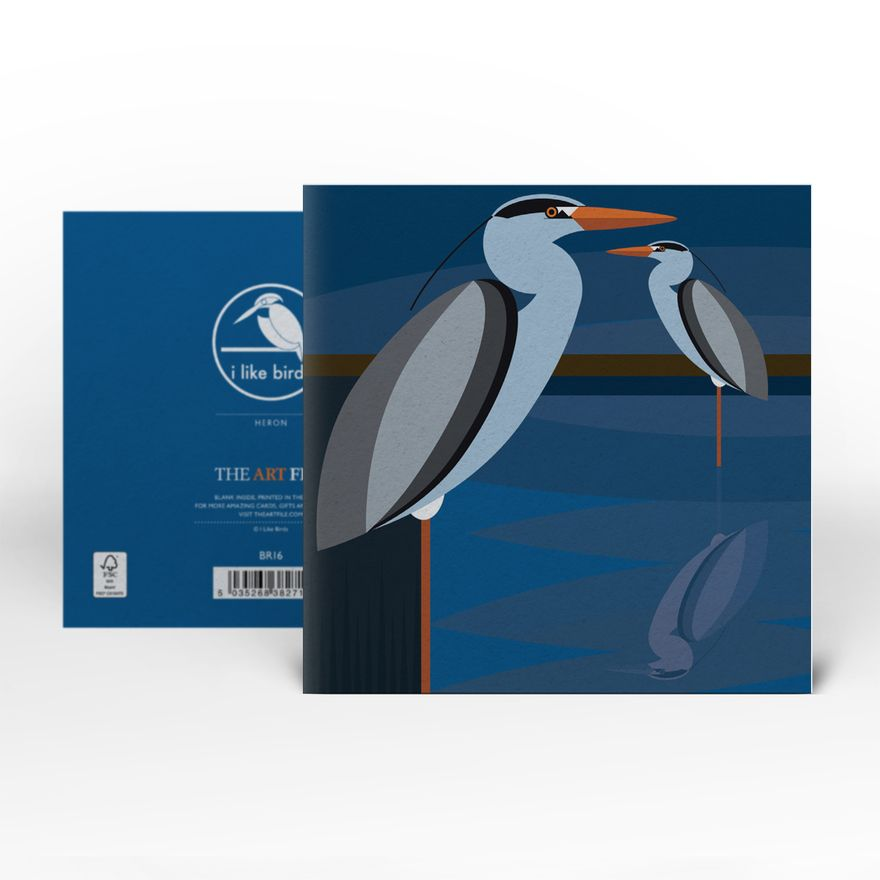 Greeting Card | Heron