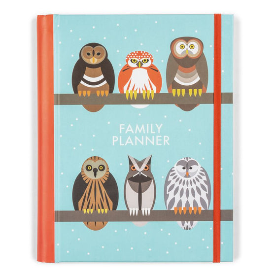 A Parliament of Owls Family Planner - I Like Birds - Beautiful Bird Greeting Cards