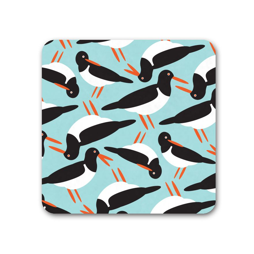 Oystercatcher Coaster - I Like Birds - Beautiful Bird Greeting Cards
