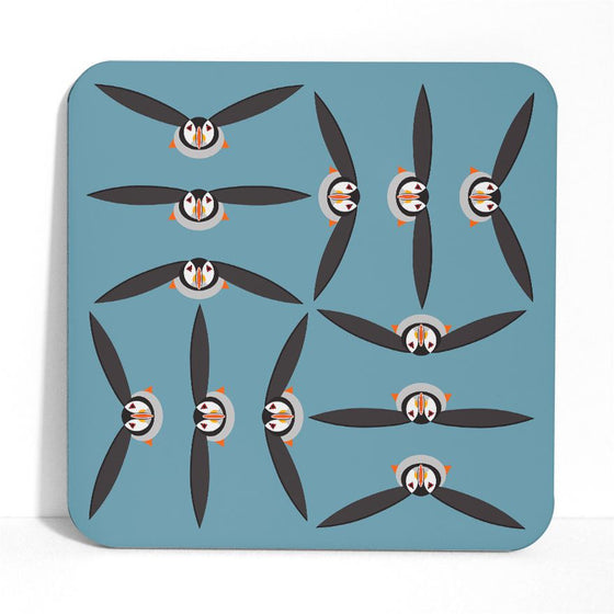 Puffin Placemat - I Like Birds - Beautiful Bird Greeting Cards