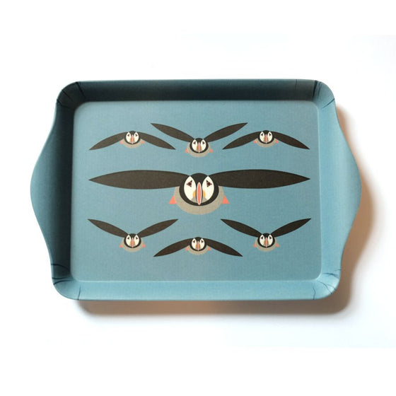 Puffin Sandwich Tray - I Like Birds - Beautiful Bird Greeting Cards
