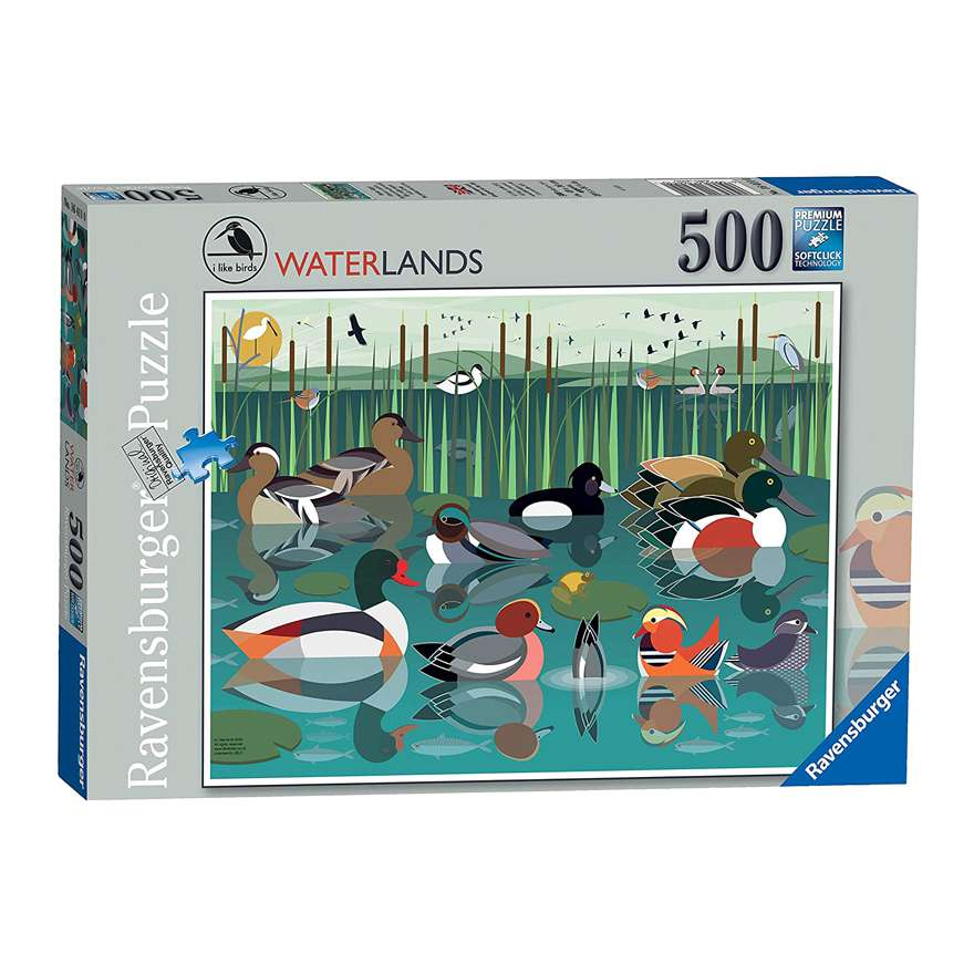 500 Piece Jigsaw: Waterlands