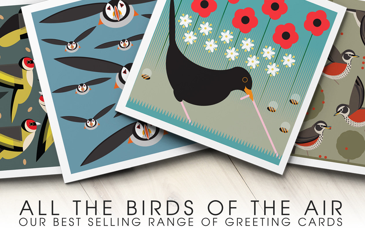 All The Birds of The Air : Best selling range from I Like Birds