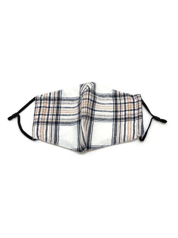The Winter Plaid Mask