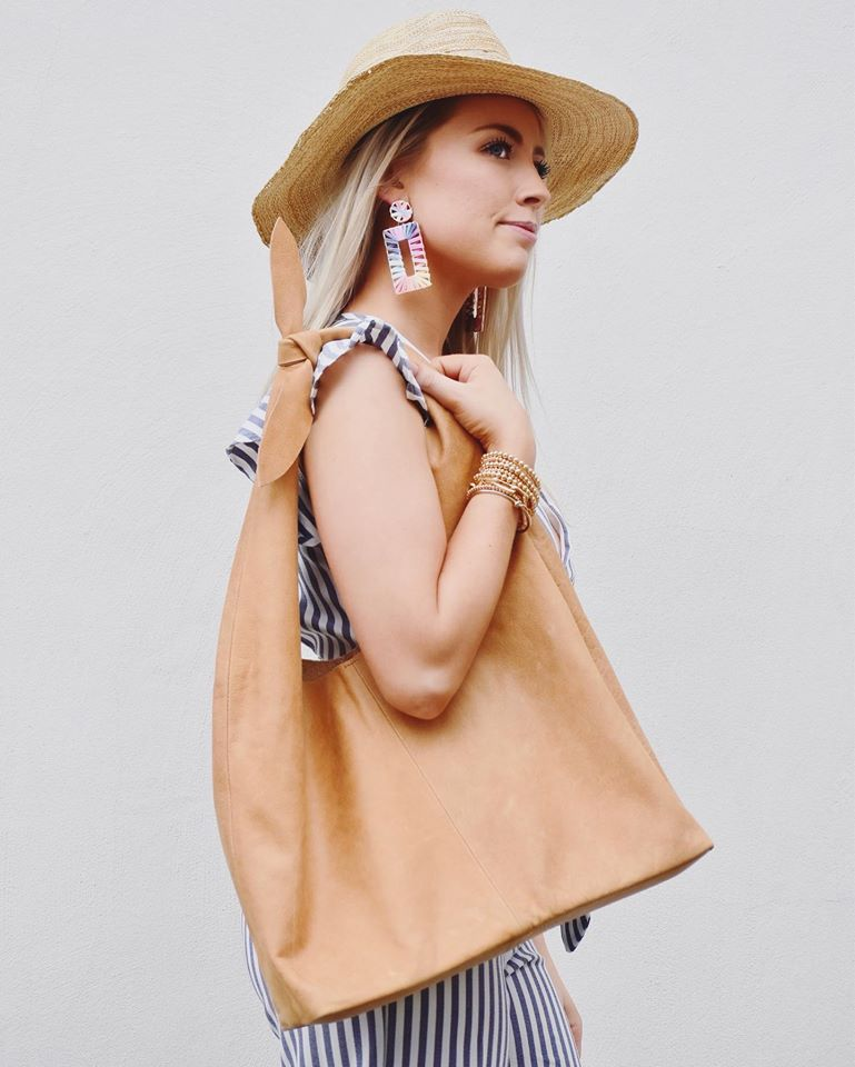 The Lulu Leather Tote