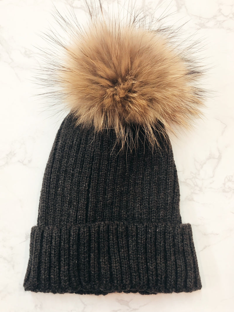 The Caitlin Pom Hat