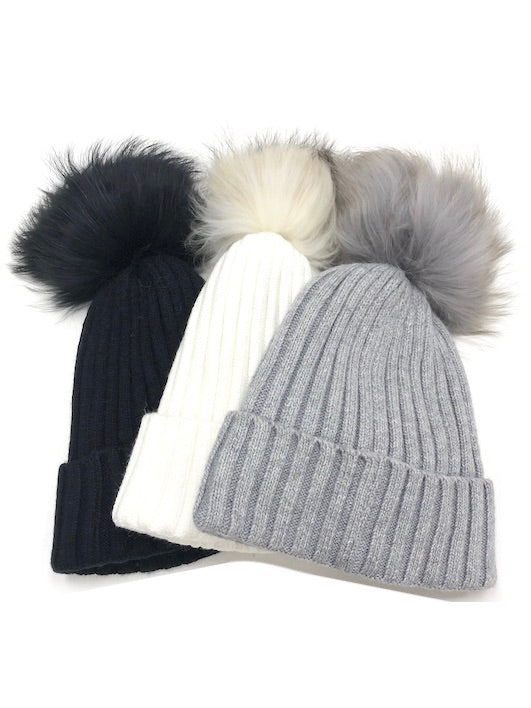 The Evelyn Pom Hat
