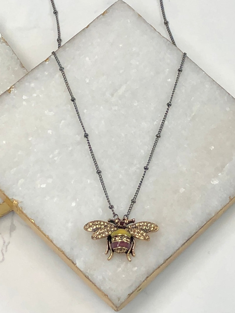 The Queen Bee Necklace