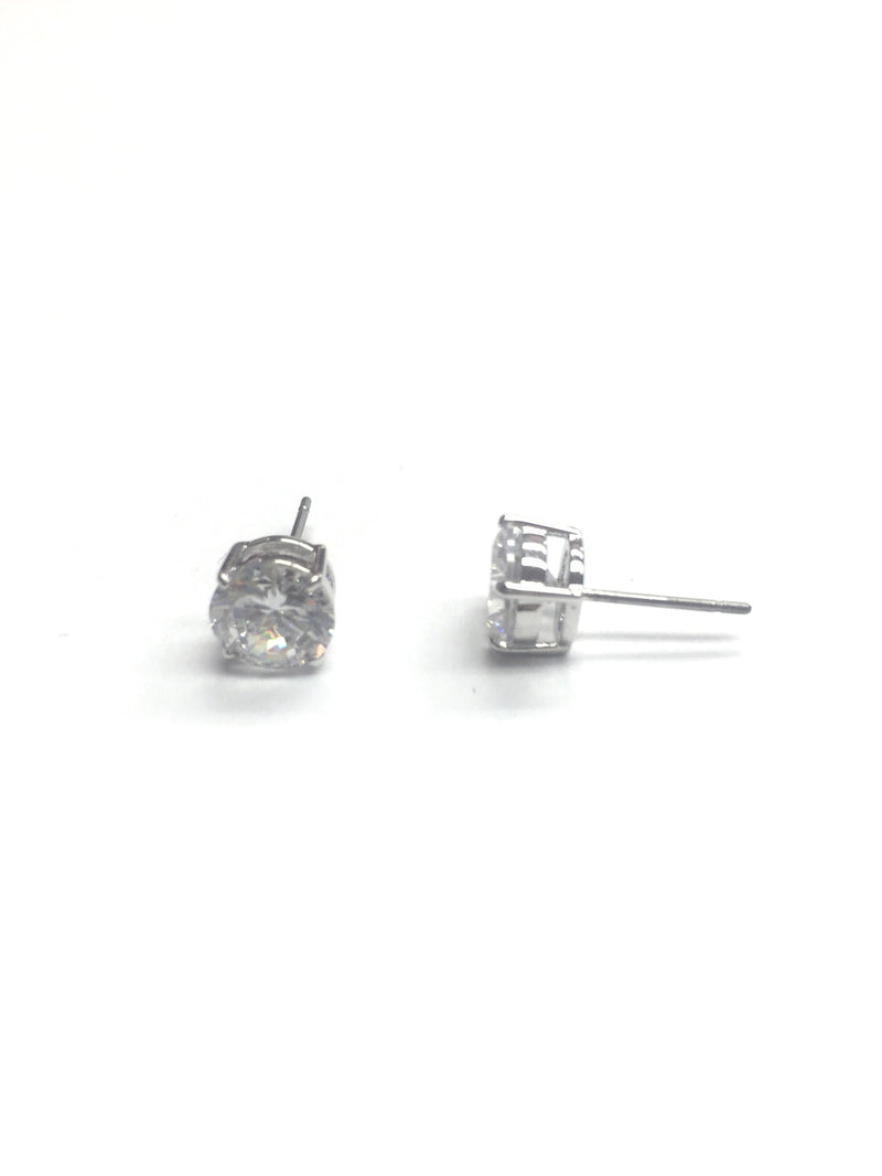 LB Mint Cubic Zirconia Stud - Small