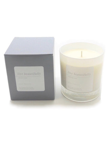 Live Beautifully Candle - Mint Mimosa