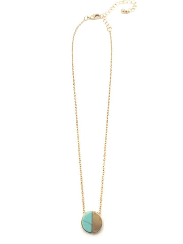 The Sloane Necklace - Turquoise