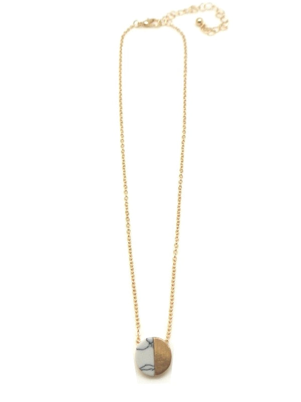 The Sloane Necklace - White