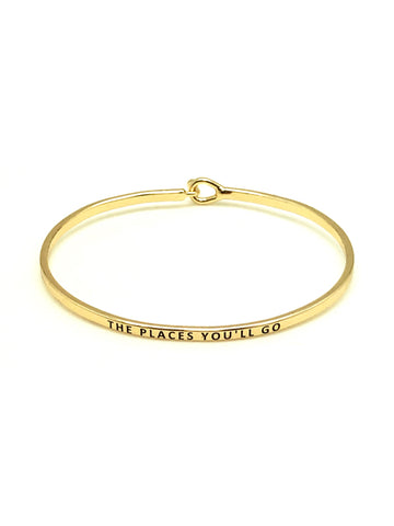 Mantra Bracelet: The Places You Will Go