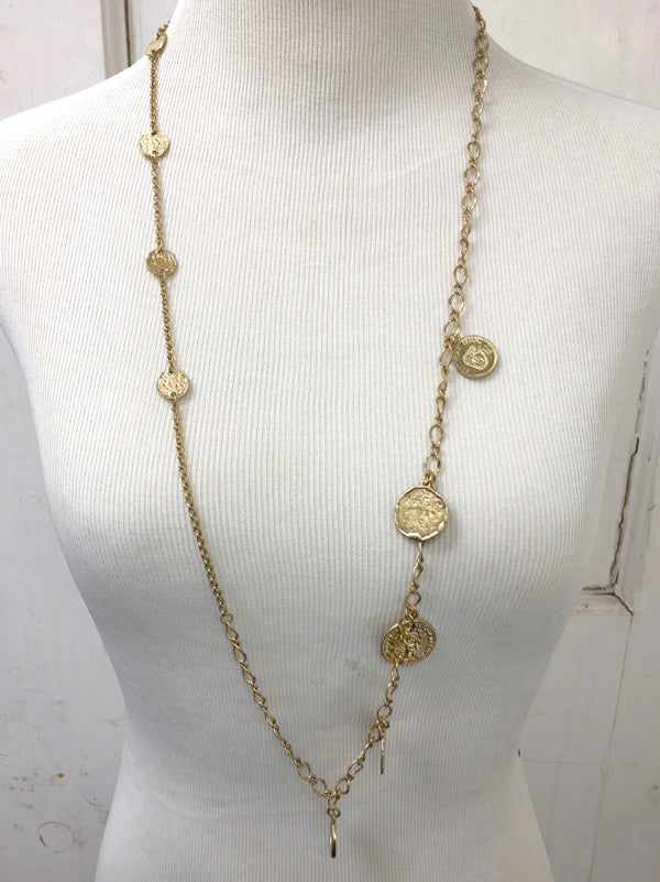 The Victoria Coin Necklace