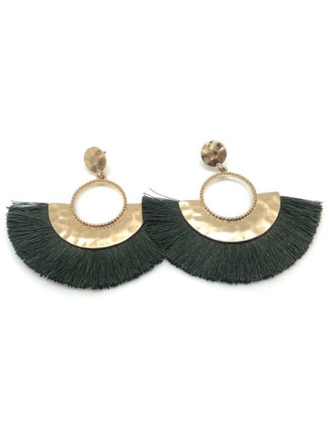 The Mira Tassel Earring