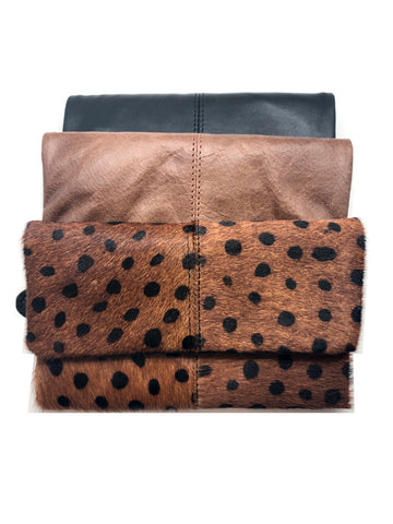 The Evelyn Leather Wallet - 3 Colors